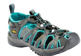 Keen Whisper Misura USA 8 M (B) Eu 38.5 Donna Sport Sandali Shoes Shadow... - $55.51