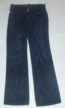 New Express Dark Wash Care Label 28x32 Jeans MSRP $88.00 - $32.62