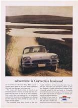1960 Chevrolet CORVETTE Adventure Print Ad - $9.99