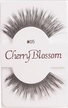 Cherry Blossom Eyelashes Model# 05 -100% Human Hair Black 1 Pair Per Pack - $1.87+