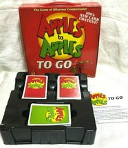 Apples To Apples To Go Travel Edition Family Card Game 2007 Mattel Complete - $6.92