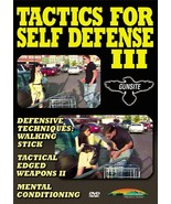 Tactics for Self Defense III-Training DVD - $14.95