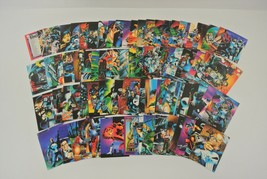 Marvel Comics Trading Cards Lot of Approx. 90 Cards 1992 Punisher War Journal EX - $14.50