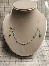 "Vintage Sterling Jade 18"" Necklace And 1"" dangling Earring Set Oriental 925 - $128.69"