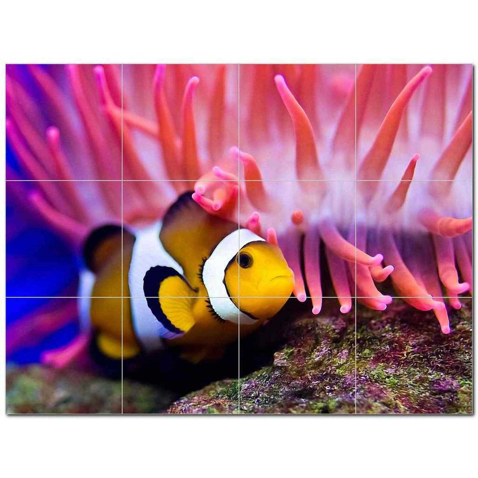 Primary image for Sealife Photo Ceramic Tile Mural Kitchen Backsplash Bathroom Shower BAZ405781