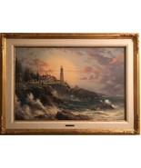 "THOMAS KINKADE stunning signed limited Renaissance edition on canvas 24""... - $3,769.10"