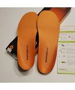 New Superfeet ORANGE Insole Arch Support Orthotic Shoe Insert Size E - $52.00
