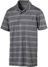 Puma Men's Pounce Stripe Short Sleeve Golf Polo - NWT - $34.99