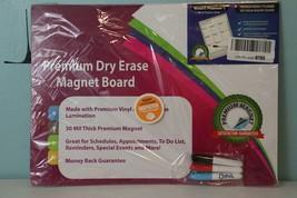 "Premium Dry Erase Magnet Board. 11.75""x16 - $9.70"