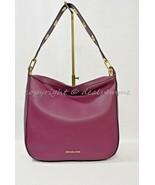NWT Michael Kors Raven Large Leather Shoulder bag/Hobo in Plum - $199.00