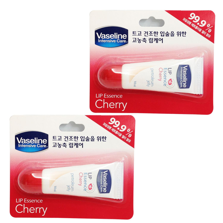 10ml x 15 Vaseline Intensive Lip Care Lip Essence Lip Balm CHERRY
