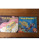 The Magic School Bus Joanna Cole 2 books hcpb Inside Human Body On Ocean... - $7.95
