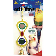 JW Activitoys Hour Glass Bird Toy  618940310327 - £12.57 GBP