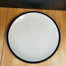 "Mikasa Terra Stone Vanilla E1955 Serving Platter 12"" Speckled Beige Brow... - $13.86"
