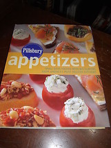 Pillsbury Appetizers Cook Book Small Bites Packed w Big Flavors HCDJ 200... - $8.43