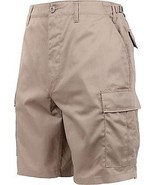 Mens Khaki Military BDU Cargo Shorts - $21.99+