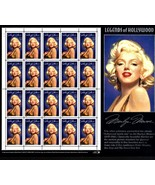 USPS Stamps - MARILYN MONROE LEGENDS OF HOLLYWOOD SHEET OF 20 -32Cent  S... - $20.00