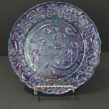 Partridge In a Pear Tree Christmas Collectible Plate #1 Purple Imperial ... - $44.54
