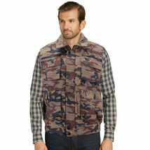 Men's Premium Multi Pocket Zip Up Military Fishing Hunting Utility Tactical Vest image 10