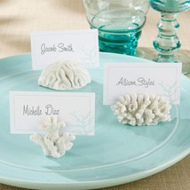 inch Seven Seas inch  Coral Place Card/Photo Holder (Set of 6)  - $17.99