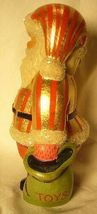 Vaillanourt Folk Art American Santa with Red and Gold Stripes signed by Judi! image 4
