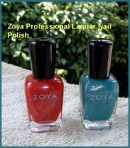 NEW ZOYA Professional Matallic Shimmer Lacquer Nail Polish ~ Myrta or Zuza - $7.95