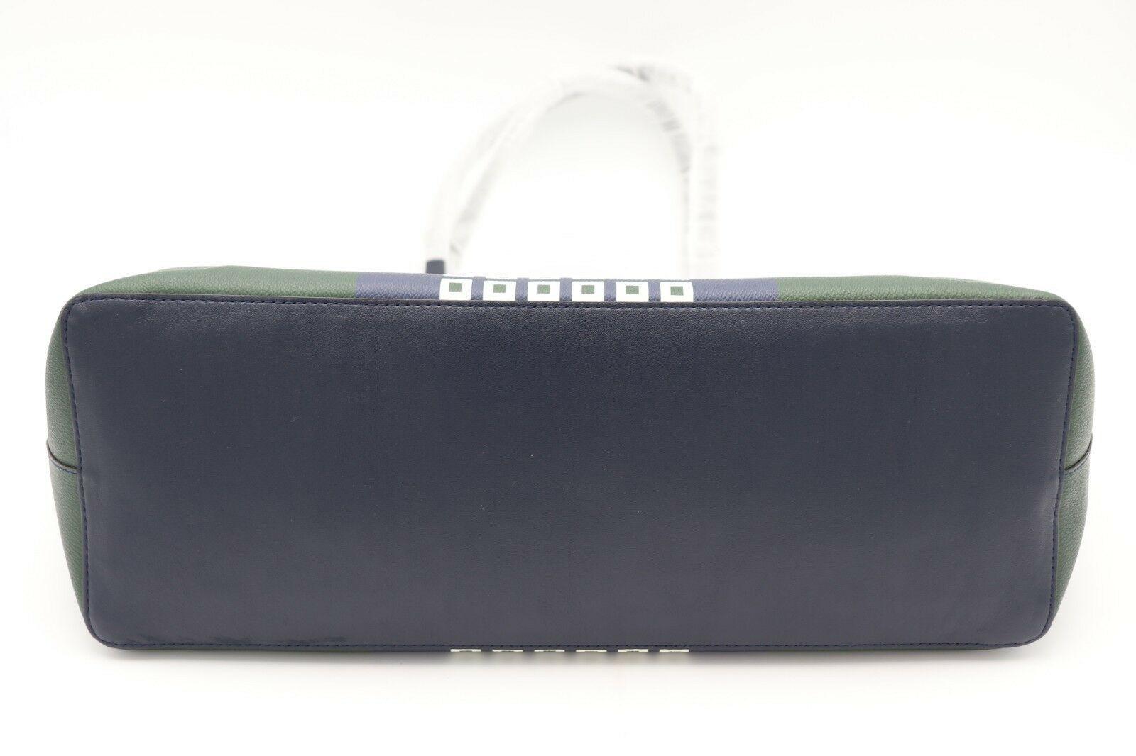NWT Tory Burch Kerrington Square Tote Green Milano Shoulder Bag New  $298 image 6
