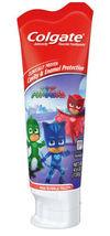 Colgate Kids PJ MASKS Gift Set Two Manual Toothbrushes fluoride Toothpaste 4.6OZ image 4
