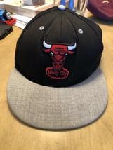 Chicago Bulls Hat New Era 7.5 Hardwood Classics Windy City Fitted NBA Ba... - $17.27