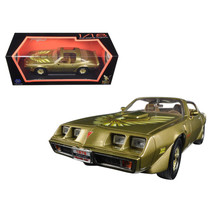 1979 Pontiac Firebird Trans Am Gold 1/18 Diecast Model Car by Road Signa... - $66.73