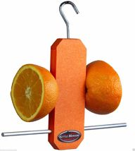 Kettle Moraine Recycled Plastic Single Oriole Orange Fruit Stick Feeder ... - $20.00