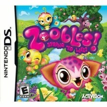 Zoobles Spring to Life (Nintendo DS, 2011) - $7.42