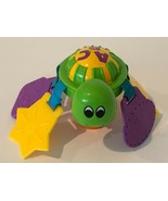 Evenflo Exersaucer Smart Steps ABC 123 Turtle Teether Replacement Part Toy - $9.99