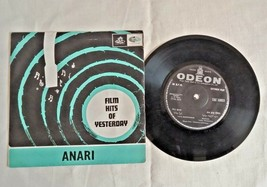 "1959's OLD  45 RPM ""ANARI MOVIE SONGS""-  ANGEL RECORDING, GRAMOPHONE RECORD - $36.29"