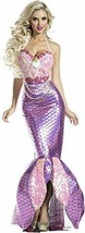 Party King Blushing Beauty Sirena Sexy Adulto Donna Halloween Costume PK... - $81.77