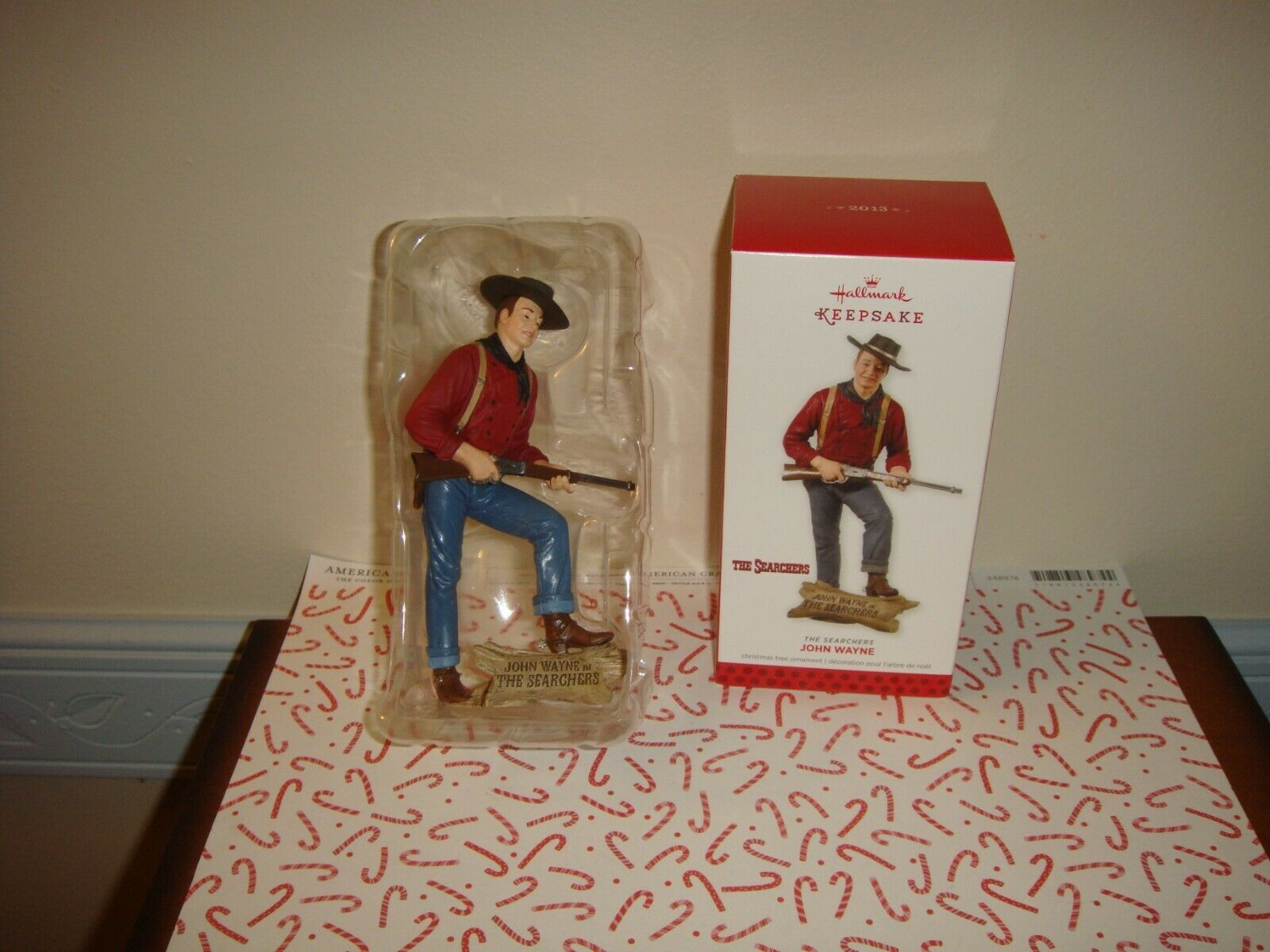 Primary image for Hallmark 2013 The Searchers John Wayne Ornament