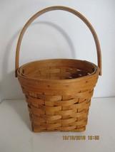 Vintage Longaberger Basket With Handle c1995 - $25.00