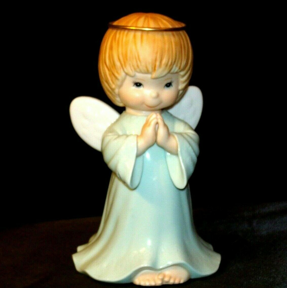 Ceramic Angel With Halo AA-191730 Vintage Collectible