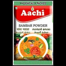 Aachi Sambar Powder 50 Grams Pack Free Worldwide Shipping - $5.99