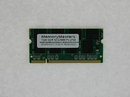 1GB MEMORY FOR HP PAVILION ZT3464EA ZT3465EA ZV5000 ZV5000T ZV5000Z