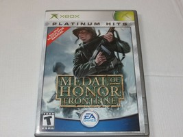 Medal Of Honor: Frontline Platinum Hits (Microsoft Xbox, 2003) T-Teen Ti... - $16.03