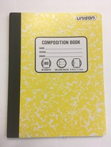 Pack of 6 Unison Composition/Notebook 80 Sheets College Ruled image 1