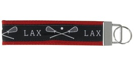 Lacrosse Wristlet Keychain - Red - €9,19 EUR