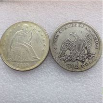 1840 SEATED LIBERTY SILVER DOLLARS  - $7.00