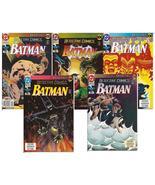 DC Detective Comics Lot  #659-663 Knightfall Batman Bruce Wayne Gotham G... - $11.25