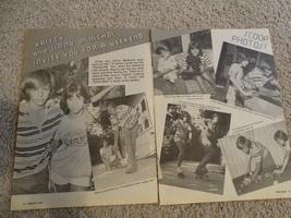 Kristy Mcnichol Jimmy Mcnichol teen magazine pinup clipping skateboarding shorts
