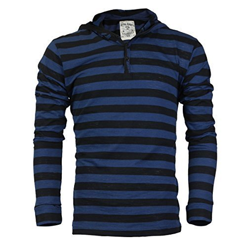 Royal Knights Men's Lightweight Slim Fit Pullover Henley Shirt Hoodie (Medium, 0