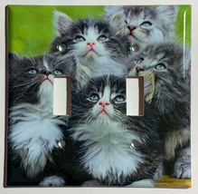 Curl Americano Puppy Cat Switch Power Outlet Duplex wall Cover Plate Home decor image 2