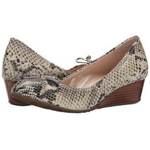Cole Haan Tali Grand Lace Snakeskin Leather Wedge Pumps Gold  Women's 6.... - $39.60