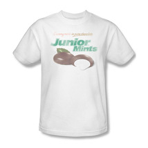 Junior Mints In Chocolate Cool Peppermint Sweet Distressed Graphic Tee TR104 image 1